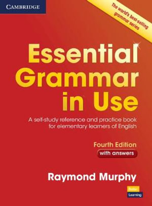 Cover of Essential Grammar in Use with Answers