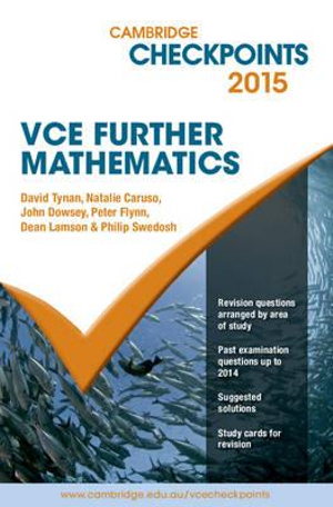 Cover of Cambridge Checkpoints VCE Further Mathematics 2015