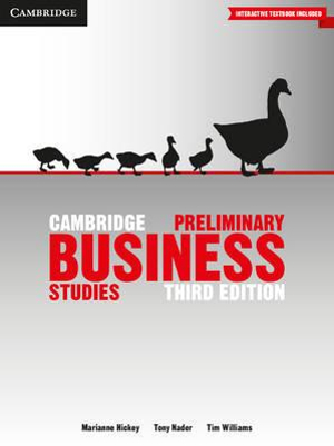 Cover of Cambridge Preliminary Business Studies 3rd Edition Pack (Textbook and Interactive Textbook)