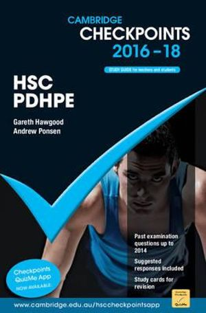Cover of Cambridge Checkpoints HSC Personal Development, Health and Physical Education 2016-18