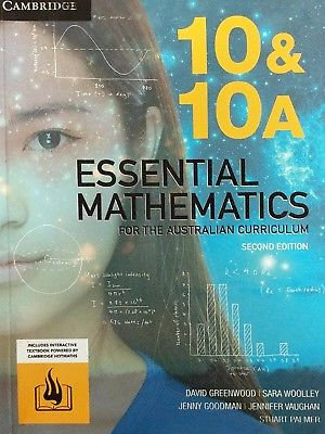 Cover of Essential Mathematics for the Australian Curriculum Year 10