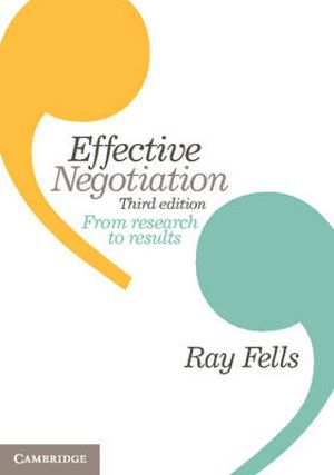 Cover of Effective Negotiation