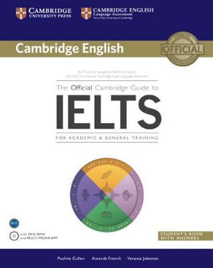 Cover of The Official Cambridge Guide to IELTS Student's Book with Answers with DVD-ROM