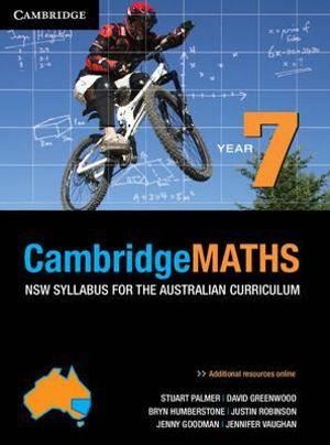 Cover of Cambridge Mathematics NSW Syllabus for the Australian Curriculum Year 7