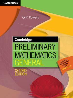 Cover of Cambridge Preliminary Mathematics General