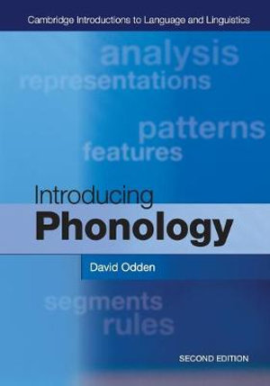 Cover of Introducing Phonology