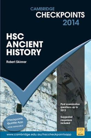 Cover of Cambridge Checkpoints HSC Ancient History
