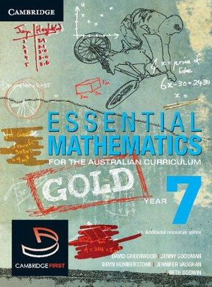 Cover of Essential Mathematics for the Australian Curriculum