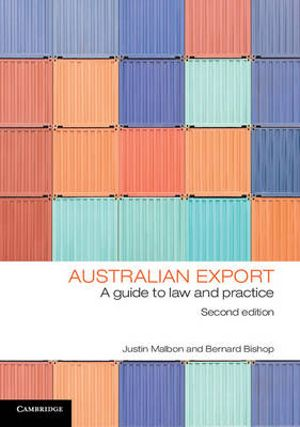 Cover of Australian Export