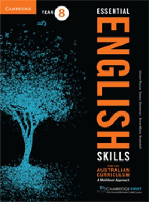 Cover of Essential English Skills for the Australian Curriculum Year 8
