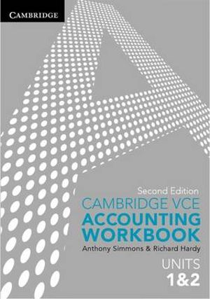 Cover of Cambridge VCE Accounting Units 1 and 2 Workbook