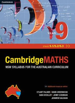 Cover of Cambridge Mathematics NSW Syllabus for the Australian Curriculum Year 9 5. 1, 5. 2 And 5. 3