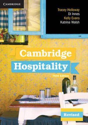 Cover of Cambridge Hospitality 3ed