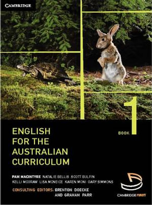 Cover of English for the Australian Curriculum