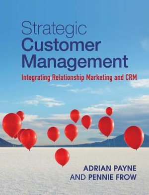Cover of Strategic Customer Management