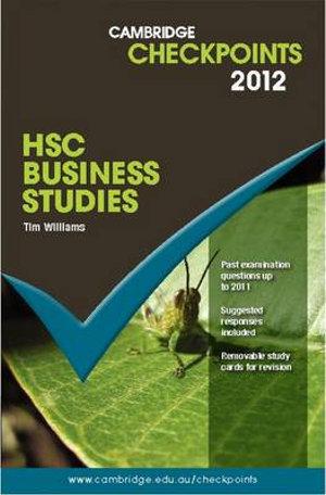 Cover of Higher School Certificate Business Studies
