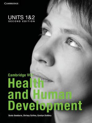 Cover of Cambridge VCE Health and Human Development Units 1 and 2 Pack