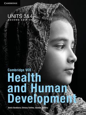 Cover of Cambridge VCE Health and Human Development Units 3 and 4 Pack