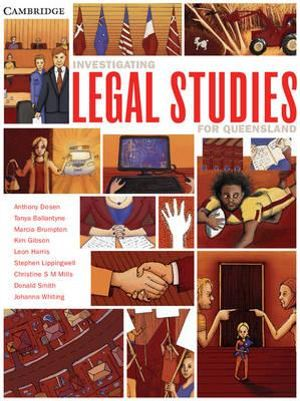 Cover of Investigating Legal Studies for Queensland