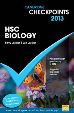 Cover of Cambridge Checkpoints HSC Biology 2013