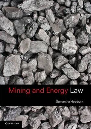 Cover of Mining and Energy Law