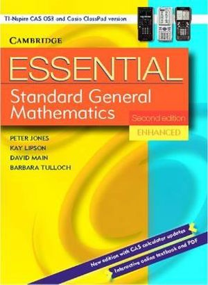 Cover of Essential Standard General Maths Second Edition Enhanced TIN/CP Version