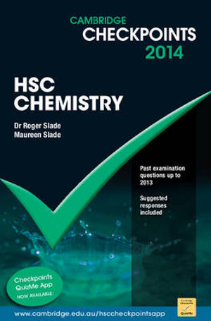 Cover of Cambridge Checkpoints HSC Chemistry