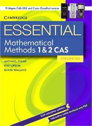 Cover of Essential Mathematical Methods CAS 1 and 2 Enhanced TIN/CP Version 652354