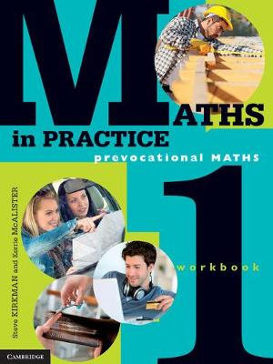 Cover of Maths in Practice Workbook 1