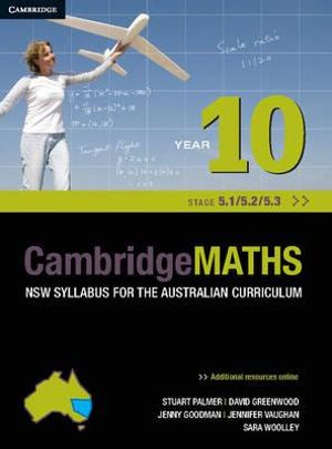 Cover of Cambridge Mathematics NSW Syllabus for the Australian Curriculum Year 10 5. 1, 5. 2 And 5. 3
