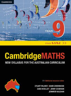 Cover of Cambridge Mathematics NSW Syllabus for the Australian Curriculum Year 9 5. 1 And 5. 2