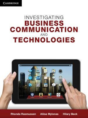 Cover of Investigating Business Communication and Technologies
