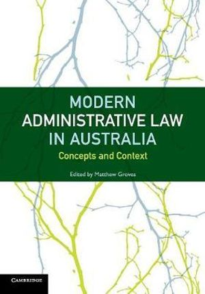 Cover of Modern Administrative Law in Australia