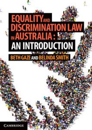 Cover of Equality and Discrimination Law in Australia: An Introduction