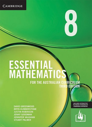 Cover of Essential Maths for the Australian Curriculum Year 8 Third Edition