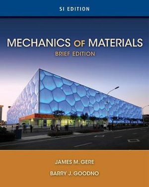 Cover of Mechanics of Materials, Brief SI Edition