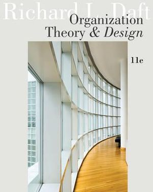 Cover of Organization Theory and Design