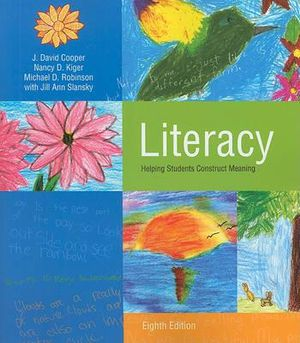 Cover of Literacy: Helping Students Construct Meaning