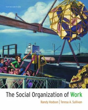 Cover of The Social Organization of Work