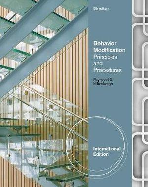 Cover of Behavior Modification
