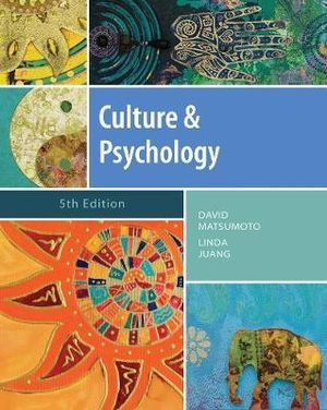 Cover of Culture and Psychology