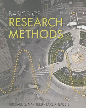 Cover of Basics of Research Methods for Criminal Justice and Criminology
