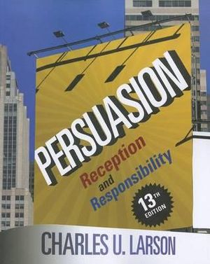 Cover of Persuasion: Reception and Responsibility