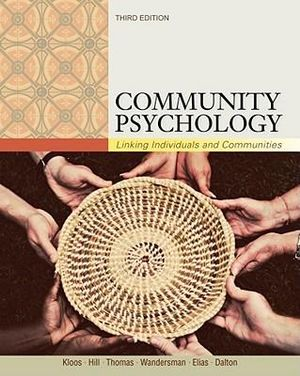 Cover of Community Psychology: Linking Individuals and Communities