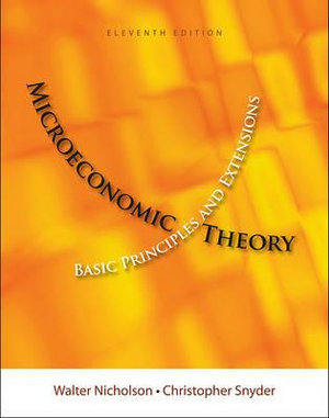 Cover of Microeconomic Theory : Basic Principles and Extensions (with Economic  Applications, InfoTrac  Printed Access Card)