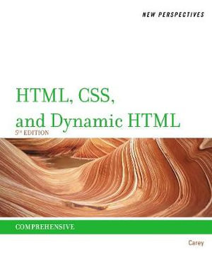 Cover of New Perspectives on HTML, CSS, and Dynamic HTML