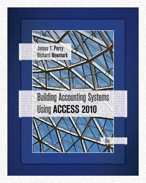 Cover of Building Accounting Systems Using Access 2010