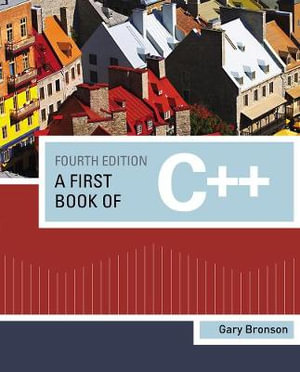 Cover of A First Book of C++
