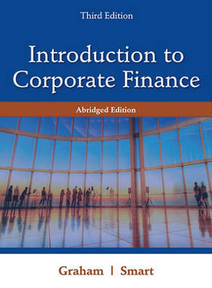Cover of Introduction to Corporate Finance: What Companies Do, Abridged Edition