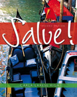 Cover of Salve! + Student Activity Manual + Premium Web Site Printed Access Card